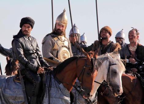 Muhteşem Yüzyıl'ın yeni sezonunda ekrana gelecek olan Mohaç Savaşı'nın çekimleri için ise Edirne'de yeni bir köy inşa edildi.