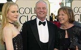 Kidman'ın babası biyokimyacı annesi ise hemşire.