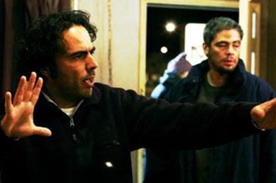 Alejandro Gonzales Inarritu ve Benicio Del Toro