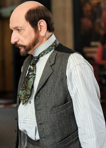 Ben Kingsley, The Invention of Hugo Cabret setinde.