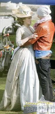 Keira Knightley'e sevgilisi set ziyareti yapınca...