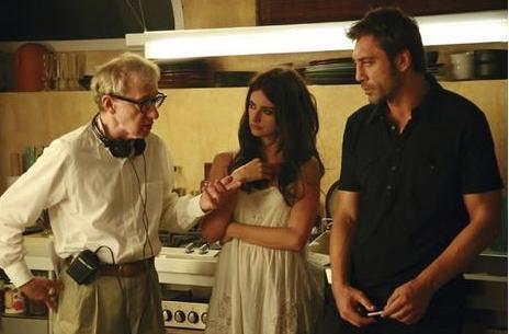 Penelope Cruz, Javier Bardem, Woody Allen.