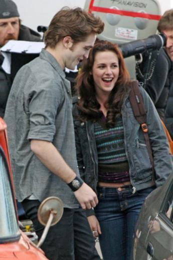 Kirsten Stewart ve Robert Pattinson