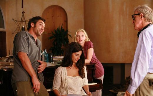 Woody Allen, Scarlett Johansson, Penelope Cruz ve Javier Bardem