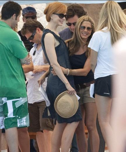 Nicole Kidman ve Jennifer Aniston