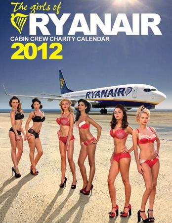 Ucuz havayolu şirketi Ryanair'in hosteslerinin iç çamaşırlı pozlarının yer aldığı 2012 takvimi cinsiyet ayrımcılığı yapıldığı gerekçesiyle incelemeye alındı.