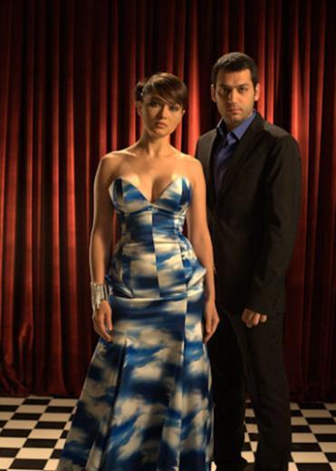 Nurgül Yeşilçay geçen sezon Aşk ve Ceza dizisinde rol aldı.