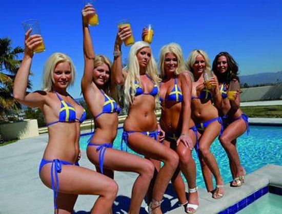 Seyahat dergilerinden Traveler's Digest tarafından yapılan anket dünyanın en güzel kadınlarının İsveç'in başkenti Stockholm'de yaşadığını ortaya koydu.
