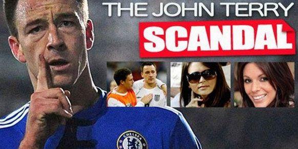 John Terry  İngiltere'nin ve Chelsea'nin kaptanı John Terry, skandal bir olaya imzasını attı. Terry'nin, bir dönem Chelsea'de beraber forma giydiği Manchester City'li Wayne Bridge'in eski kız arkadaşı Vanessa Perroncel'le ilişki yaşadığı ortaya çıktı.
