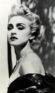 Madonna gençlik yıllarında.