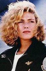 Top Gun filminin yıldızı Kelly McGillis'in popüler olduğu günlerden.