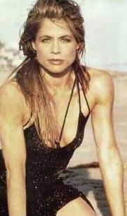 Terminatör filmlerinin yıldızı Linda Hamilton'ın en gözde olduğu dönemden.