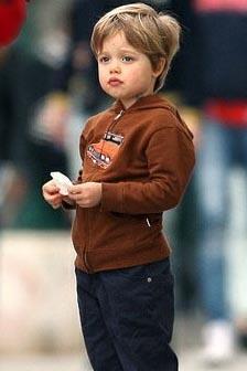 Brad Pitt ve Angelina Jolie ilk çocuklarına Shiloh Nouvel adını verdi.