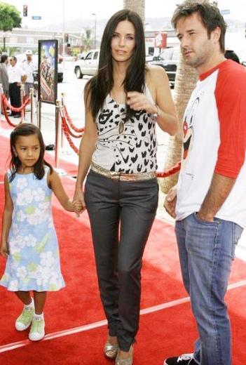 Courteney Cox ve David Arquette kızlarına annesinin lakabınan ola çıkarak Coco adını verdi.