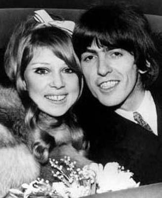1960'ların ünlü mankeni Pattie Smith, nişanlısını terk edip George Harrison ile evlendi.