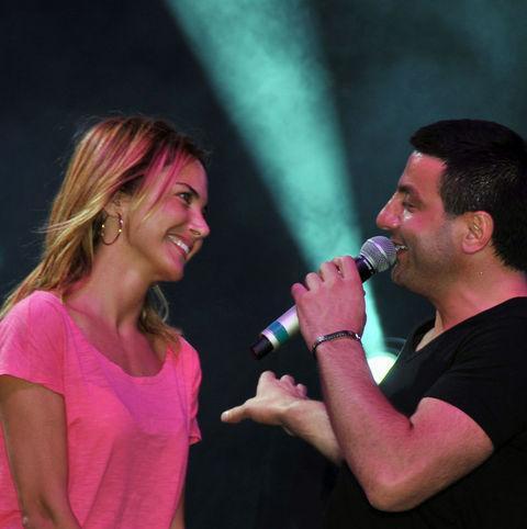 Ece Erken ve Davut Güloğlu, her yerde birlikte görülünce aralarında bir aşk dedikodusu başladı.