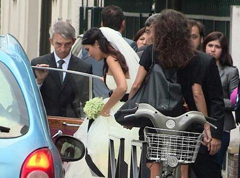 Ve çift evlendi...