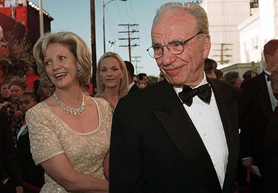 Rupert ve Anna Murdoch