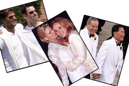 SIRADIŞI EVLİLİKLER   Ünlü şarkıcı Ricky Martin uzun zamandır birlikte olduğu Carlos Gonzales ile evlenmeye hazırlanıyor. Hayranları da merakla onun düğününü bekliyor. Martin, gösteri dünyasının hemcinsiyle evlenen ilk ünlüsü değil.   İşte ünlülerin aykırı evlilikleri.