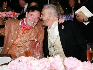 Andrew Solomon ve John Habich  Prenses Diana biyografisiyle tanınan yazar Solomon ile John Habich 2007 yılında evlendi.