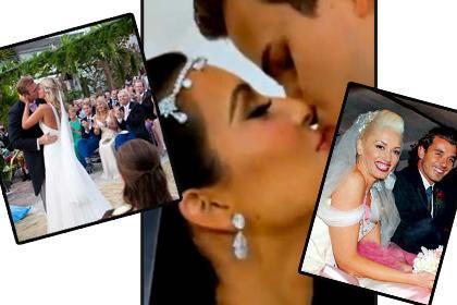 BU DÜĞÜNLER SERVET DEĞERİNDE Bazı ünlüler evlenirken de gösterişten uzak kalamıyor. İşte evlenirken servet harcayan o ünlüler..