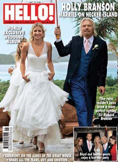 Holly Branson ve Freddie Andrewes Dünyanın en zengin işadamlarından biri olan Richard Branson'ın kızı Holly milyon dolarlık bir düğünle evlendi.