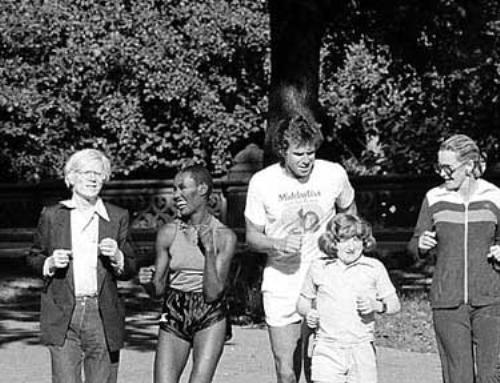 Andy Warhol, Grace Jones, Bill Boggs, Mason Reese, Dina Merrill and Gordon Parks