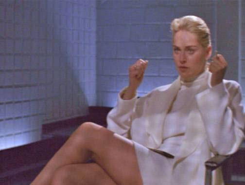 3) Sharon Stone - Basic Instinct (1992)