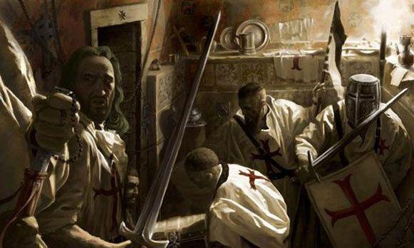 13 Ekim 1307'de çok sayıda şövalye tutuklanıp idam edildi..