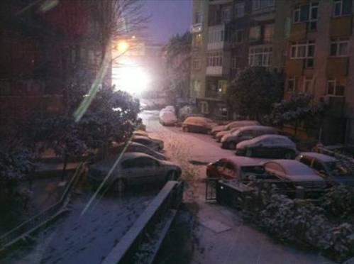 Emrah İstanbul ve kar