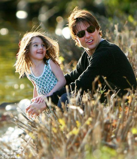 Tom Cruise ve Katie Holmes'ün küçük kızı Suri