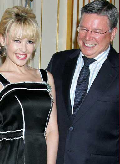 Kylie Minogue ve Ron Minogue
