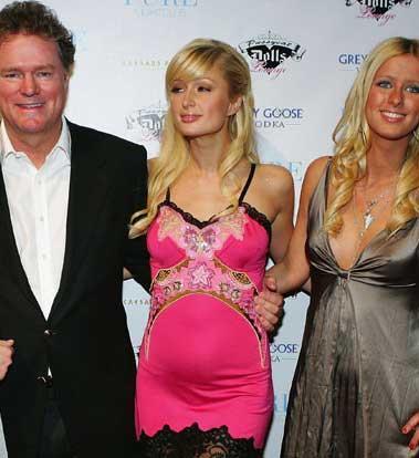 Paris - Nicky Hilton kardeşler ve Rick Hilton