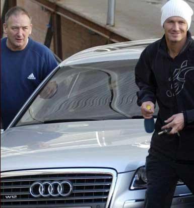 David Beckham ve David Ted Beckham