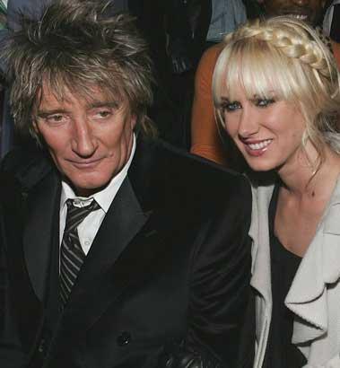 Kimberly Stewart ve Rod Stewart