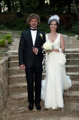 Tan Sağtürk; Alona Ataberk ile evlendiğinde baba adayıydı.