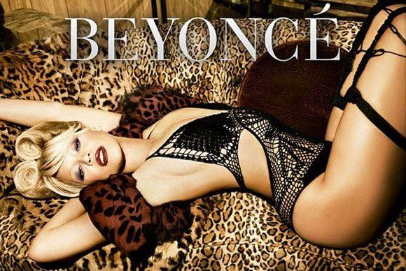 Geçen hafta kızı Blue Ivy'i  dünyaya getiren Beyonce, yeni albümünün tanıtım fotoğraflarında tanınmayacak halde.