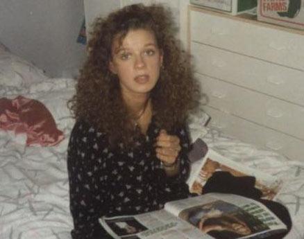 Alicia Douvall estetik operasyon geçirmeden önce böyle görünüyordu.