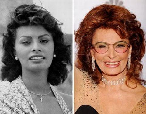 Sophia Loren 75 yaşında