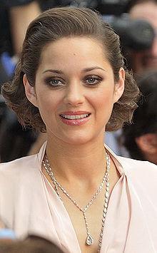 Marion Cotillard  Güzel yıldız Fransız.