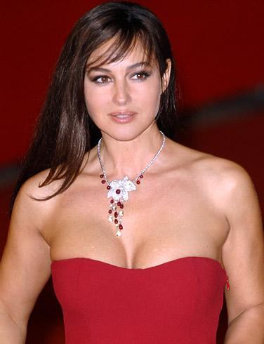 Monica Bellucci Güzel yıldız İtalyan.