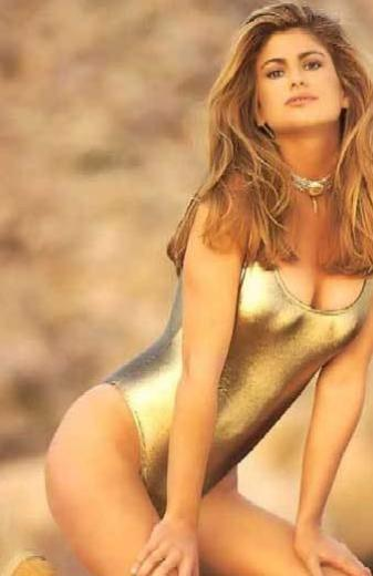 KENDİNE İYİ BAKMIŞ Kathy Ireland 80'lerin en gözde mayo modellerinden biriydi.