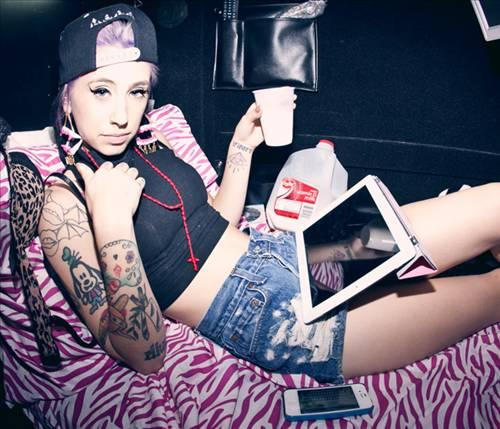 74.Kreayshawn