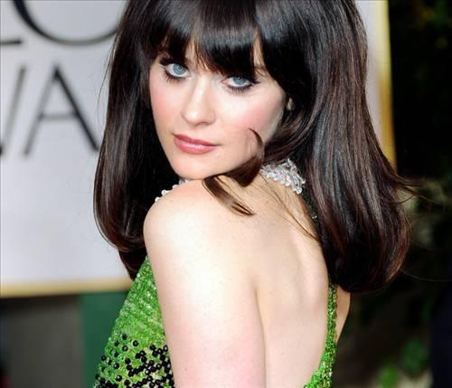 12.Zooey Deschanel