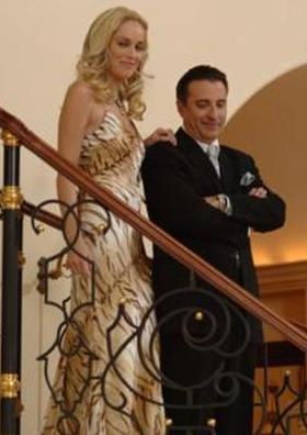 Sharon Stone ve Andy Garcia, dizi için kamera karşısına geçmişti.