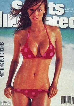 Tyra Banks da özel sayının kapak kızı olan ünlülerden.