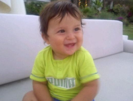 Şallı, en çok geçtiğimiz günlerde 1 yaşına giren Pars'ın fotoğraflarını paylaşıyor.
