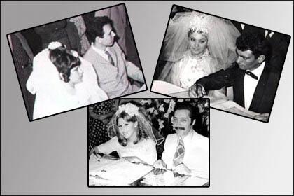 Kimi henüz çocuk denecek yaşta dünyaevine girdi, kimi evlenmek için 40 yaşını bekledi. İşte ünlülerin evlilik yaşları.