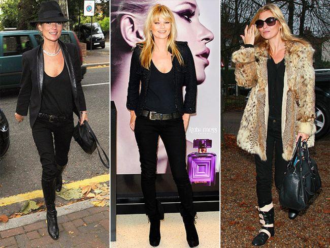 Siyah her zaman vazgeçilmezlerimizden. Özellikle pantolonlar bizi daha da zayıf gösterdiği için favorimiz.