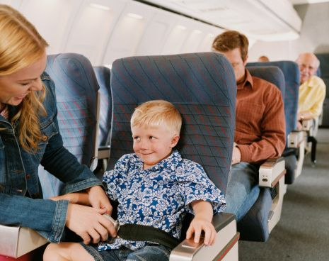 Çocuk yolcular (yüzde 7)